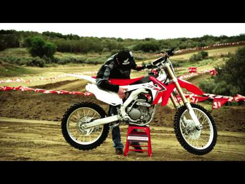 crf250r - The best-handling bike in the 250 class just got a whole lot better. That's because Honda's CRF250R is all new for 2014, with a major emphasis on doing what ...