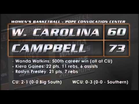 Women's Basketball vs. Western Carolina - 11/16/13