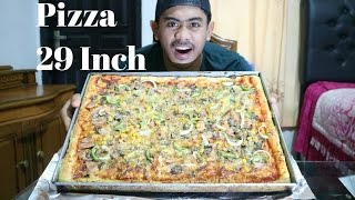 Video GILA!! | TANBOY KUN NGABISIN PIZZA UKURAN 29 Inch. MP3, 3GP, MP4, WEBM, AVI, FLV Desember 2017