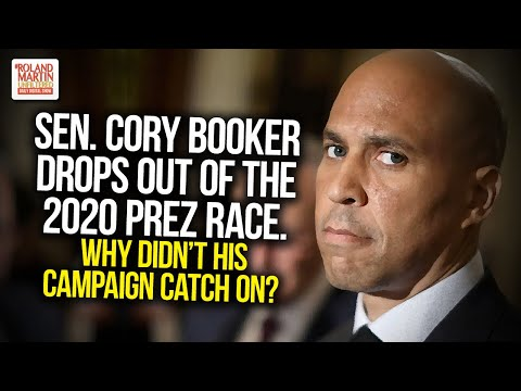 Sen. Cory Booker Drops Out Of The 2020 Prez Race. Why Didn't His Campaign Catch On?