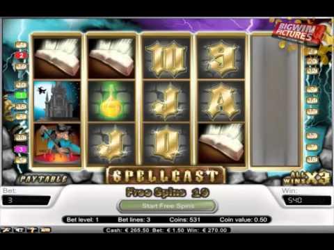 Spellcast - 30 Free spins (Member Video)