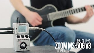 Download Lagu Zoom MS-50G Multistomp | Software Update v3 | Metal Demo & Playthrough Mp3