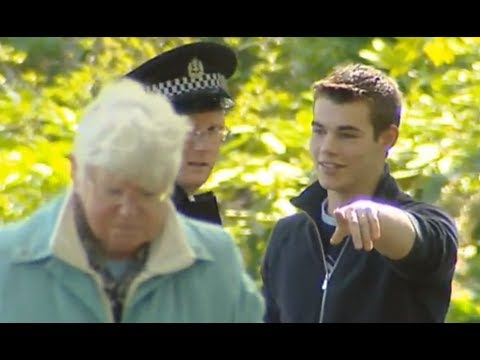 Grandma Attacks Police Officer