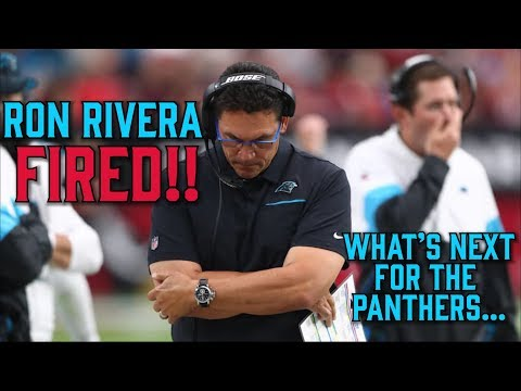 RON RIVERA FIRED!!!! | What Are The Carolina Panthers Thinking????