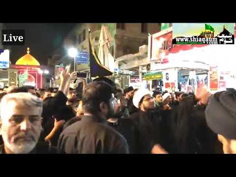 Imam Reza Holy Shrine, Mashhad, Iran | अज़ादारों का हुजूम - लब्बैक या हुसैन अस