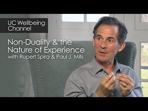 Non-Duality and the Nature of Experience with Rupert Spira and Paul J. Mills