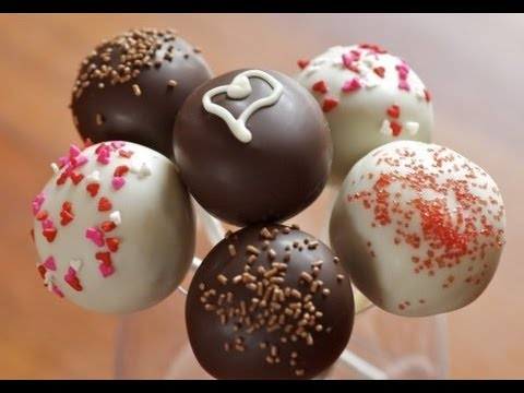 BAKING Brownie Cake Pops from scratch! Easy cake pops frosting recipe & easy cake pops from scratch