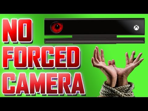 xbox one forced kinect