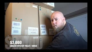 I Paid $127 for $2,100 Worth of Amazon MYSTERY BOXES + Amazon Customer Returns Pallet Unboxing