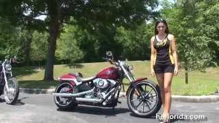 4. Used 2013 Harley Davidson Softail Breakout Motorcycles for sale - Daytona Beach, FL