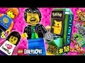 PIKACHU LEGO DIMENSIONS POKEMON Midway Arcade Fun! (Lets Build n Play LEGO Dimensions #18)