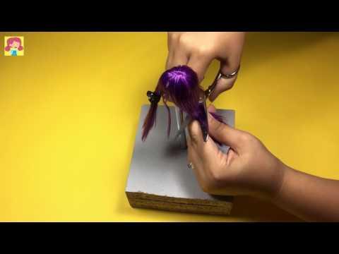 Jessie J Hair Tutorial for Barbie DOLL - DIY - Barbie Haircut - Making Kids Toys