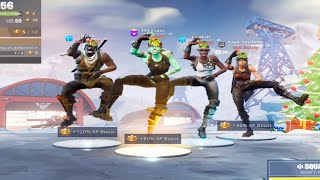 the sweatiest OG TRYHARD Fortnite squad ever.. 😱 (Recon Expert, Aerial Assault Trooper..)
