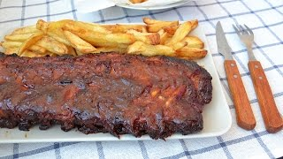 Learn how to make delicious oven-baked BBQ pork ribs. These homemade barbecue pork ribs will have everyone licking their...