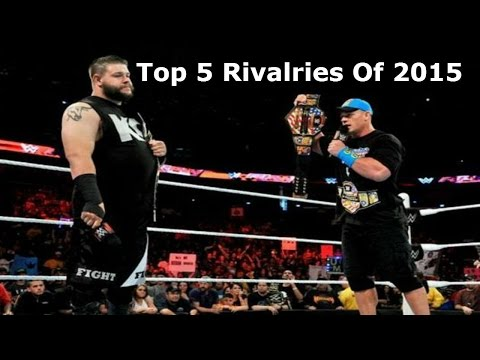 WWE Top 5 Rivalries Of 2015