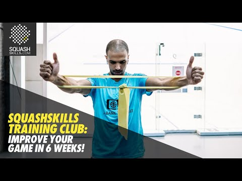 SquashSkills Training Club: Improve Your Game In Six Weeks!