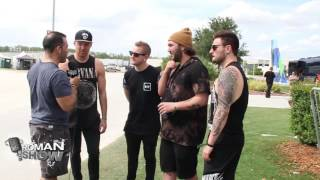 I Prevail hit the stage at the annual Fort Rock Festival in Fort Myers, Fl. The Roman Show caught up with the band and talked about their writing process, favorite songs and challenges.