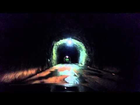 Driving into Underground Powerhouse