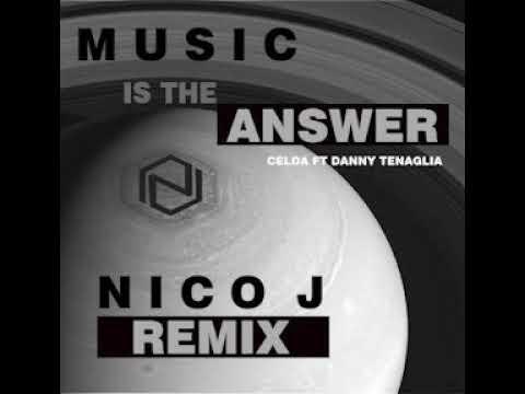 Music Is The Answer  ( DJ NICO-J Remix )Bootleg Celeda  Danny Tenaglia