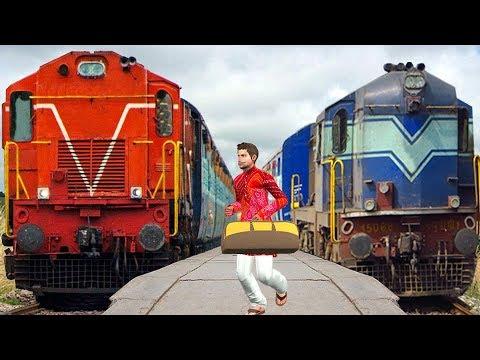 रेलवे ट्रेन यात्रा Train Yatra हिंदी कहानी Hindi Kahaniya | Hindi comedy Kahani | hindi Stories