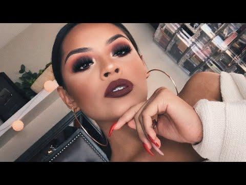 Brown Fall Makeup Tutorial   Sarahy Delarosa