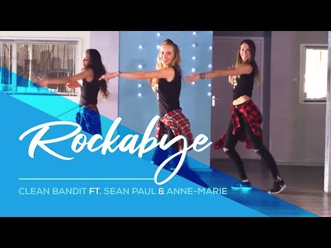 Video Rockabye - Clean Bandit - Sean Paul - Anne-marie -Easy Fitness Dance Choreography download in MP3, 3GP, MP4, WEBM, AVI, FLV February 2017