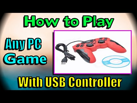 How to play any game using USB PC Controller