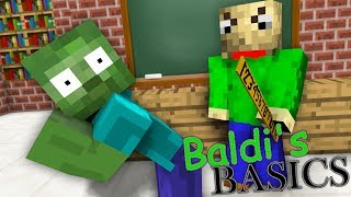 Video Monster School : BALDI'S BASICS CHALLENGE - Minecraft Animation MP3, 3GP, MP4, WEBM, AVI, FLV September 2018