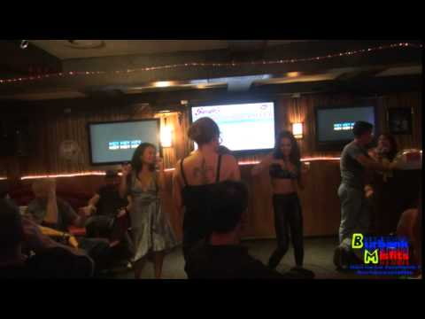 Tony K singing Temptations My girl - Joined by Lucky starr Trinity St Clair and Kiki Daire (видео)