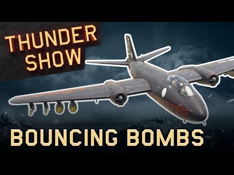 Thunder Show: Bouncing bombs