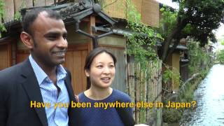 Travelers' Voice of Kyoto:GION Area Interview 010