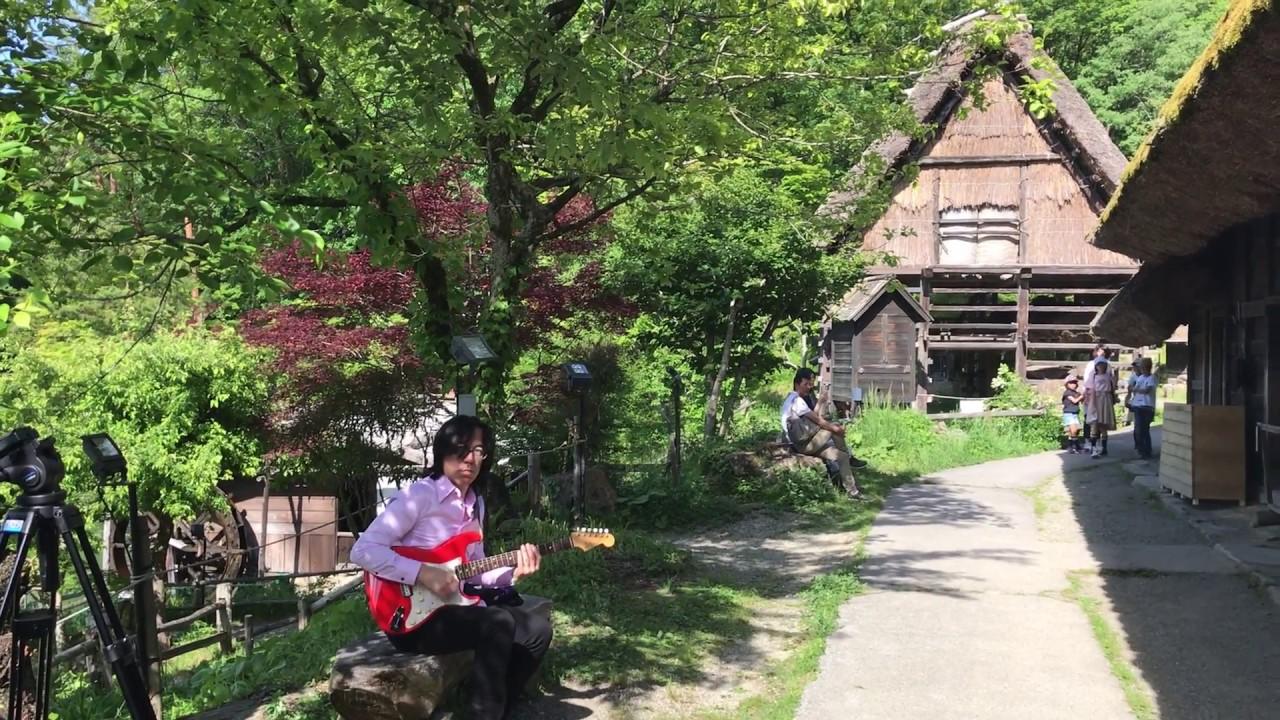 Funky guitar at Hida Jazz Festival  / Hida Takayama 飛騨高山