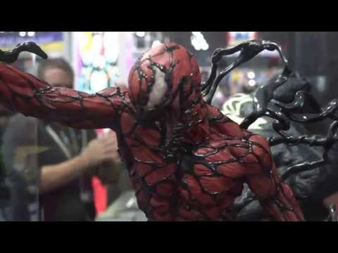 SIDESHOW CARNAGE (Cletus Kasady) PREVIEW NYCC 2016