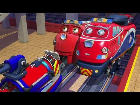 🇺🇸  Chuggington (US) - High Rise Rescue Clip - Cartoons for Kids