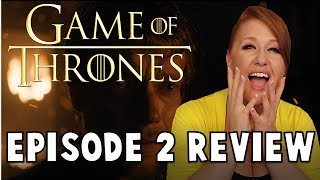 Let's talk about episode 2 of Game of Thrones! https://timetravelingdinosaur.com/earrings T-SHIRTS:...