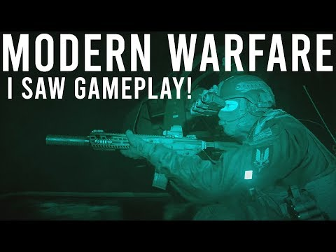I Saw Modern Warfare Gameplay At E3