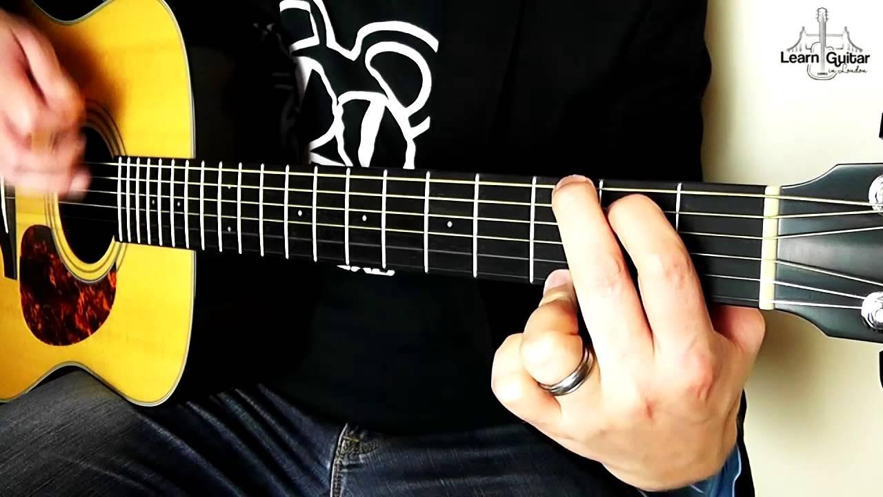 Crying Lightning – Guitar Lesson (Acoustic) – Arctic Monkeys – Drue James
