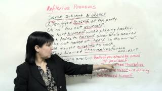 MYSELF, YOURSELF and Other Reflexive Pronouns, 4 Grammar Mistakes