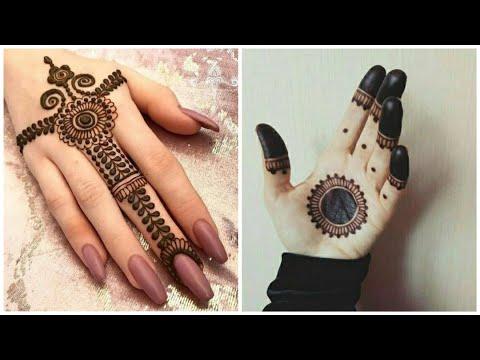 latest mehndi design ideas hands