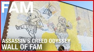 Ubisoft FAM - Assassin's Creed Odyssey Wall of FAM by Ubisoft