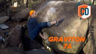 One Of The Hardest Top Outs In Font...Graviton 7A | Climbing Daily Ep.1588 by EpicTV Climbing Daily