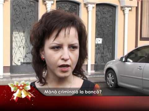 Mână criminală la bancă?