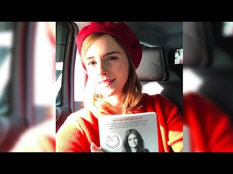 Emma Watson Hid Feminist Books All Around NYC For International Women's Day