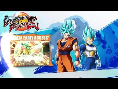 Dragon Ball FIghterZ  - Vidéo de présentation pour Vegeta de Dragon Ball FighterZ