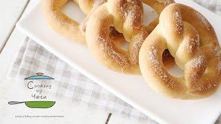 프레즐 만들기, 프레첼 레시피 : How to make a Pretzels, Pretzel, Home made Cinnamon Sugar pretzels Recipe