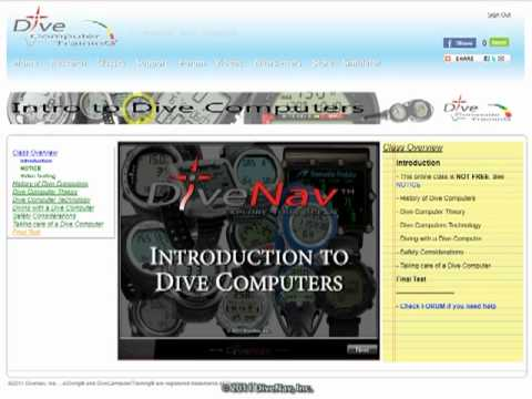 Oceanic Atom 3.0 Computer in the Classroom - PADI