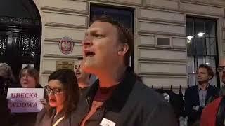"""Brawo dla Polonii w Londynie! """"Wolne Sądy""""!"""