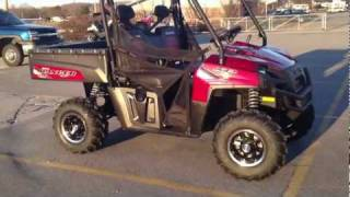6. 2012 Polaris Ranger XP 800 Sunset Red LE
