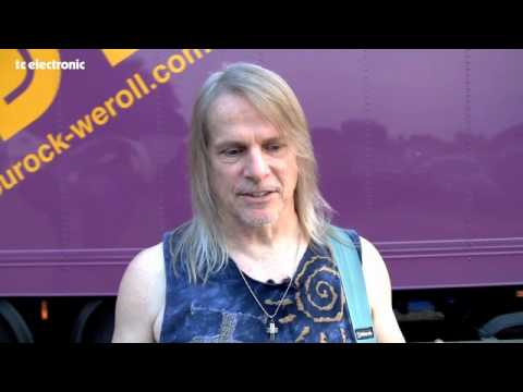 Deep Purple's guitarist for the last 17 years, Steve Morse, talks about playing with the band and his favorite new equipment.