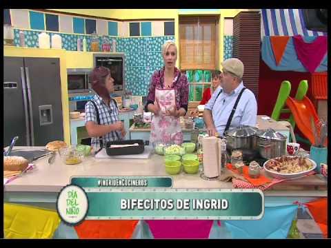 Bifes de cerdo a la mostaza con chucrut con Ingrid Grudke Parte 1